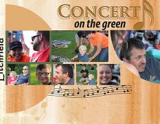 """Concert on the Green"" digital scrapbook layout showcases Value Pack: 8.5x22 Scrap It Monthly Three"