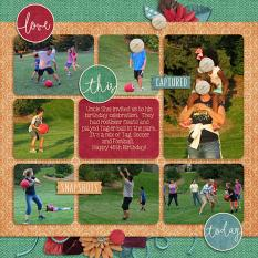 Layout by Penny using Project Keepsake: September - Collection Biggie