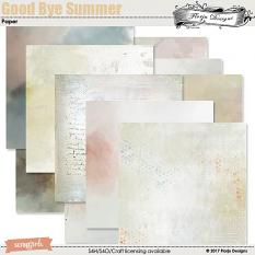 layout using GoodBye Summer Collection by florju designs