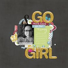Pocket Life: Most Girls layout example by ReviVAL Designs
