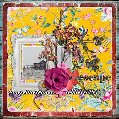 Escape layout by geekgirl designs