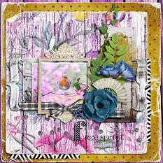 Free Spirit layout by geekgirl designs