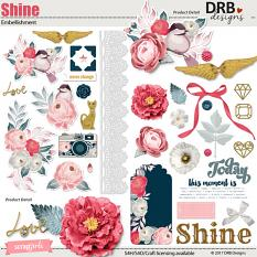 Shine Embellishment by DRB Design | ScrapGirls.com