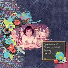 Layout by Kathryn using Luv 2 Learn - Collection