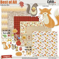 Best of All Collection Mini by DRB Designs | ScrapGirls.com