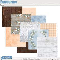 Fencerow Papers by Angela Blanchard