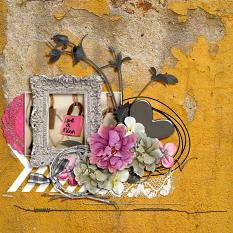 Love layout by geekgirl designs