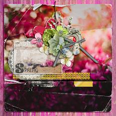 Spring Layout by geekgirl designs