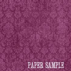 ScrapSimple Paper Templates: Distressed Damask Overlays • Set 03 | Sample Paper