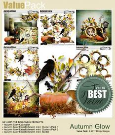 value pack Autumn Glow by florju designs