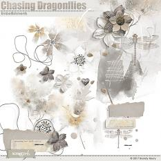 Chasing Dragonflies Embellishments by Brandy Murry