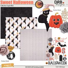 Sweet Halloween Collection Super Mini by DRB Designs | ScrapGirls.com