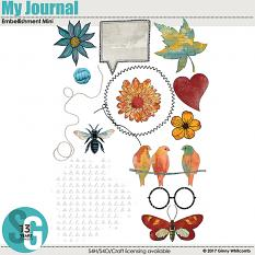 My Journal Embellishment Mini