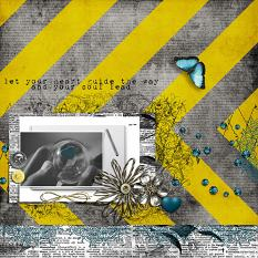 Let Your Heart Layout by geekgirl designs