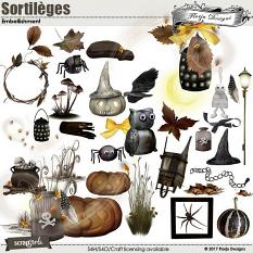 Sortileges Embellishment  by florju designs