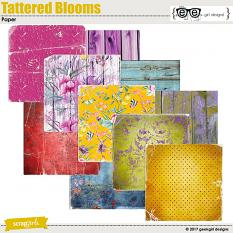 Tattered Blooms Papers