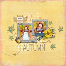 Digital scrapbooking layout by Armi Custodio using Indian Summer Collection