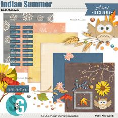Indian Summer Collection Mini by Armi Custodio