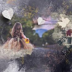 layout using  Dynamic Visions Embellishment Mini: Clusters Pack 2 by florju designs