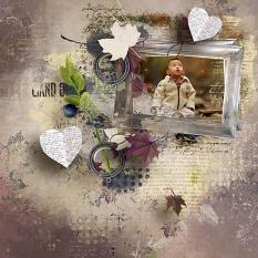 layout using Dynamic Visions Embellishment Mini: Clusters Pack 1 by florju designs