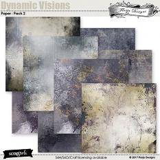 Dynamic Visions Papers Mini Pack 2 by florju designs