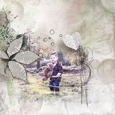 layout using Dynamic Visions Embellishment  by florju designs