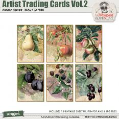 Artist Trading Cards Vol2 by On A Whimsical Adventure