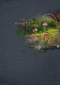 Creative team layout using Value Pack: Hunting Mushrooms by On A Whimsical Adventure