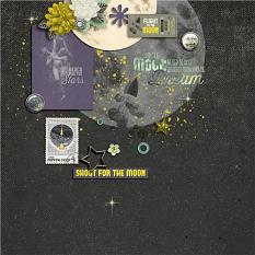 Creative team layout using Value Pack: Fly Me To The Moon by On A Whimsical Adventure