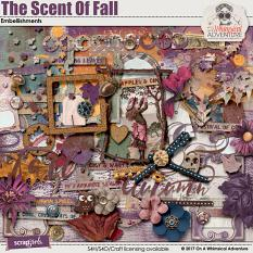 The Scent Of Fall Embellishments by On A Whimsical Adventure