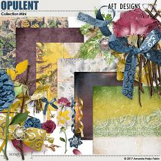 Opulent Collection Mini by AFT Designs - Amanda Fraijo-Tobin @ScrapGirls.com | #digitalscrapbooking #fall