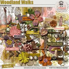 Woodland Walks Embellishments by On A Whimsical Adventure