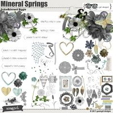Mineral Springs Embellishment Biggie