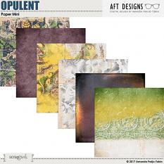 Value Pack: Opulent by AFT Designs - Amanda Fraijo-Tobin @ScrapGirls.com | #digitalscrapbooking #fall