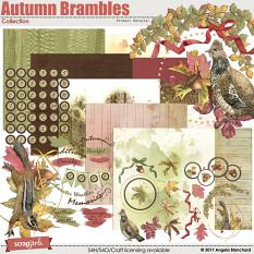 Autumn Brambles Collection by Angela Blanchard