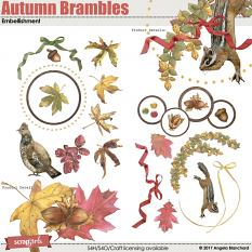 Autumn Brambles Embellishments by Angela Blanchard