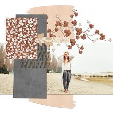 Love You layout by Melissa Renfro
