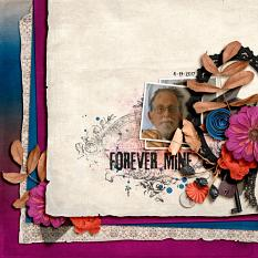 Digital creative team layout using Value Pack: Immortal Love by On A Whimsical Adventure