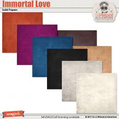 Immortal Love Solid Papers by On A Whimsical Adventure