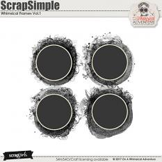 ScrapSimple Embellishment Templates: Whimsical Frames Vol1 by On A Whimsical Adventure
