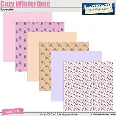 Cozy Wintertime PaperMini by Aftermidnight Design