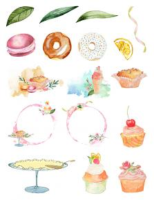 Pastry Shop Collection by Aftermidnight Design Embellishment sheet 2