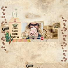 Layout by Andrea using Coffee Break Collection
