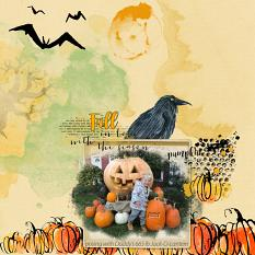 Layout by Debby using Pumpkin Time Collection