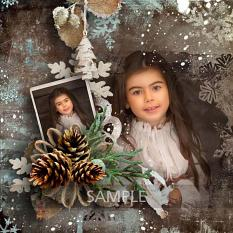 layout using ScrapSimple Embellishment Templates: Winter Time Clipping Mask by Florju Designs
