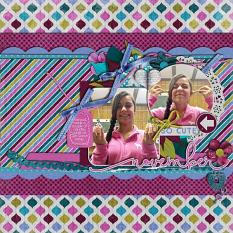 Layout by Joanna using Project Keepsake: November - Collection Biggie