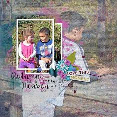 Layout by Kim using Project Keepsake: November - Collection Biggie