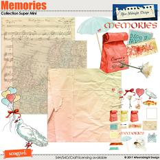Memories Collection Super Mini by Aftermidnight Design