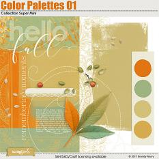 Color Palettes 01 Collection Super Mini