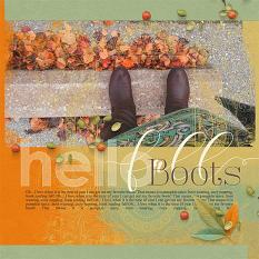Fall Layout by Brandy Murry for Color Palettes 01 Collection Super Mini